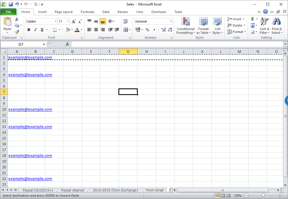 How to Remove Blank Lines from an Excel Spreadsheet